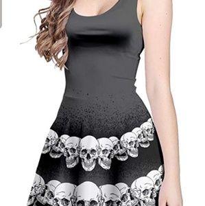 Skull Skater Dress size M